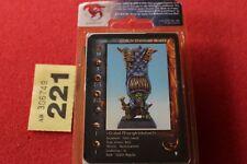 Rackham Confrontation Goblin Standard Bearer Metal Figure BNIB New Sealed OOP