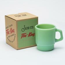 Fire King Stacking Mug Cup 215ml Jadeite Japan Limited 2012