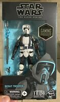 Star Wars Jedi Fallen Order Scout Trooper The Black Series Action Figure In Hand