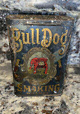BULL DOG VERTICAL POCKET TOBACCO Smoking Deluxe TIN Vintage
