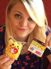 1998 Pikachu Mini Plush Pokemon Tomi Keychain NEW