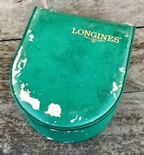 LONGINES Vintage Watch Box 1980s Conquest Heritage Evidenza Master Diver Admiral
