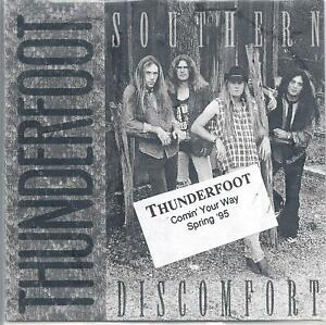 KEVIN FOWLER Rare Tour Pr0m0 THUNDERFOOT CD 1995, ONE SINGLE SONG
