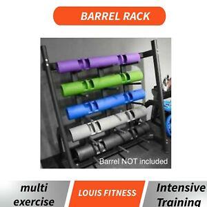 5 Levels Vipr Barrel Racks Home GymFitness Weightlifting Loaded Heavy Duty Steel