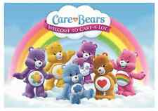 "Care Bears Welcome to Care A Lot  Iron On Transfer 5 ""x7.25"" for LIGHT Fabric"