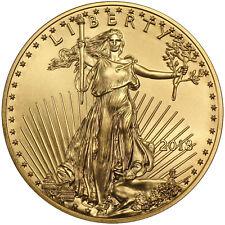 2018 Gold American Eagle 1oz BU Gold Coin