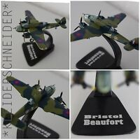 Bristol Beaufort 1:144 Sparviero Fertigmodell Metall  DieCast Military Aircraft