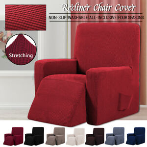Stretch Recliner Chair Cover Sofa Couch Armchair Furniture Protector Waterproof