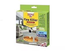 ZERO IN Electric Flea Killer Unit Trap With 3 Discs 24hr Protection From Fleas