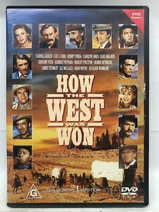 How the West Was Won - DVD - AusPost with Tracking