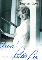 Twilight Zone Premiere Edition Ruta Lee Autograph Card A-19