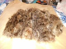 MARSHALL FIELD & COMPANY CONTEMPORY FURS WOMEN'S RACCOON FUR DYED COAT SIZE M