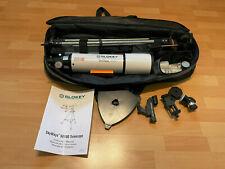 Slokey SkyWays 50080 Teleskop 20x-250x, 3 Okulare, Handyhalter, Stativ, Finder