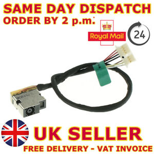DC Jack Power Cable for Hp 250 G6 255 g6 Charging Wire Socket Connector