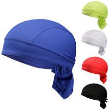 Mens Unisex Cycling Cap Quick Dry Headband Riding Bandanas Headscarf Pirate Hat