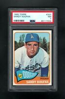 1965 TOPPS #300 SANDY KOUFAX HOF LOS ANGELES DODGERS PSA 7 NM++SHARP CARD!