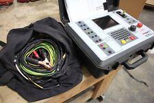 Megger Mct1605 Current Transformer Test Set Working