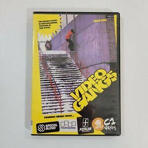 Video Gangs DVD - RARE OOP - Snowboarding Tricks, Stunts - Eddie Wall/Joni Malmi