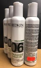 REDKEN THICKENING LOTION 06 150ml - 4 PACK