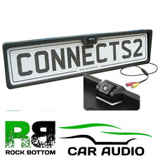 SEAT LEON Rear View Reversing Parking Colour Camera & Car Number Plate Frame