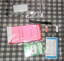 i-phone 6S Plus Case,Hot Pink,5,6,7,+Screen Protector+Stylus+Cleaner,E,LV, ELV,