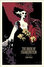 Bride of Frankenstein by Mike Mignola  - Rare sold out Mondo