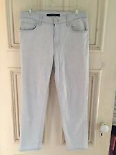 J Brand Aubry Light Blue Cropped Skinny Jeans in Fade Size 25/0/2