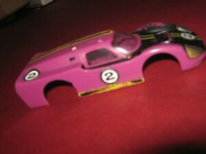 Motorific Ideal Battery Operated Car Body Ford 1960s Toy Racerific sports car