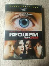 Requiem for a Dream Dvd with case and insert/poster