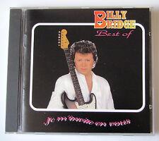 BILLY BRIDGE - JE M'INVITE EN VOUS - ( BEST OF ) -  CD
