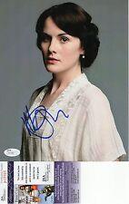 Michelle Dockery Signed 8x10 Photo w/ JSA COA #P17701 Downton Abbey