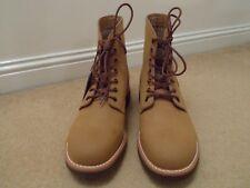 NEW G.H.Bass Quail Hunter Duxbury Plain Toe Tan Leather Boots UK 10 44 US 11