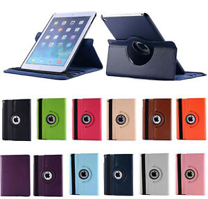 360 Rotating PU Leather Smart Case Cover For Apple iPad 10.2 AIR MINI PRO 10.5