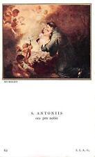 "Santini Heiligenbild Gebetbild Holycard"" H3774"" Sankt Antonius"