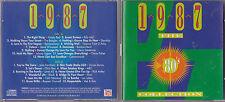 2 CD 24T 1987 THE 80's COLLECTION DURAN DURAN/MEL & KIM/BLACK/LOS LOBOS/BANGLES