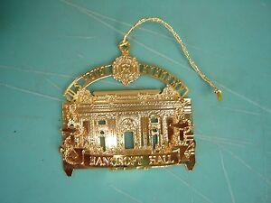 "bancroft naval hall academy lapel pin 3"" diameter"