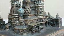 VNTG. RUSSIAN TOWERS POKROVSKY SAINT BASILL'S  CATHEDRAL MOSKOW DESKTOP SOUVENIR