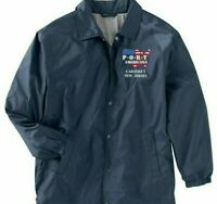 CARTERET-NEW JERSEY*PORT AMERICANA LOGO*EMBROIDERED 1-SIDED STAFF JACKET