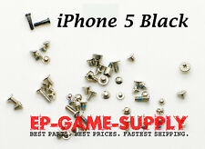 Full Screw Set With Bottom Dock Screws Replacement For Apple iPhone 5 5G Black