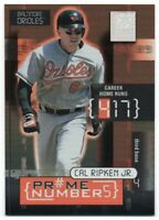 2001 Donruss Elite Prime Numbers Serial # Pick Any Complete Your Set