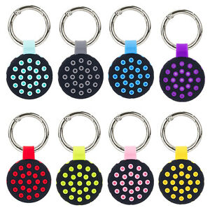 Hybrid AirTag Protective Case Cover Anti-fall For Apple AirTags Keyring Location