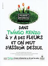 Publicité Advertising 098  1995  la Renault Twingo