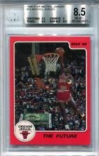 1986 Star Michael Jordan 10 Card Set #10 BGS 8.5 *3521