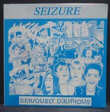 Sealed SEIZURE seriously delirious 1990 Noriega KBD punk hardcore dk token entry