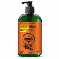 Nature's Spirit Strengthening Argan Oil Shampoo 12oz- Deep Cleaning Shampoo