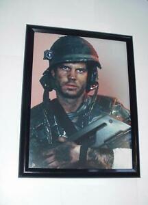 Aliens Poster #18 FRAMED Private Hudson Bill Paxton w/ Pulse Rifle James Cameron