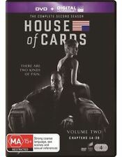 House of Cards - Season 2 (DVD, 4 Disc Set) NEW R4 Series