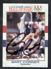 Bart Conner #82 signed autograph auto 1991 Impel Olympic Hall of Fame Card