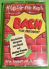 Klassik für Kids - Bach (Kassette | MC) Für Kinder ab 5 Jahren