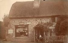 Manaton Post Office Nr Moretonhampstead  Bovey Tracey RP old pc used 1908